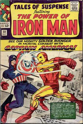 Tales of Suspense - Image: Tales Of Suspense 58