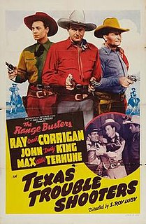 <i>Texas Trouble Shooters</i> 1942 film by S. Roy Luby