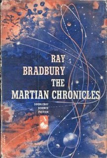 <i>The Martian Chronicles</i> novel by Ray Bradbury