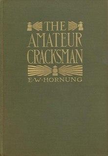 <i>The Amateur Cracksman</i>