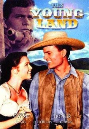The Young Land - The Young Land DVD Cover