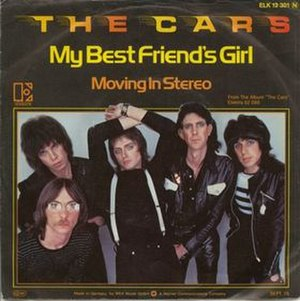 My Best Friend's Girl (song) - Image: The Cars My Best Friend's Girl