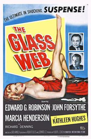 The Glass Web - Theatrical release poster