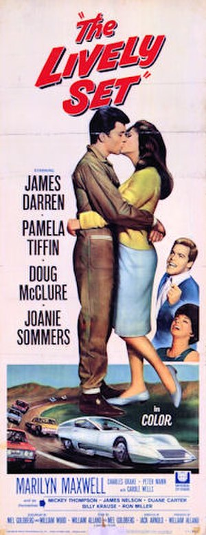The Lively Set - 1964 theatrical poster
