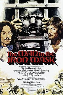 <i>The Man in the Iron Mask</i> (1977 film) 1977 television film directed by Mike Newell