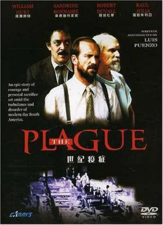 The Plague (1992 film) - theatrical release posster