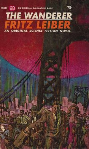 The Wanderer (Leiber novel) - Cover of first edition (paperback)