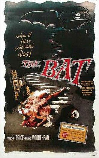 The Bat (1959 film) - theatrical film poster