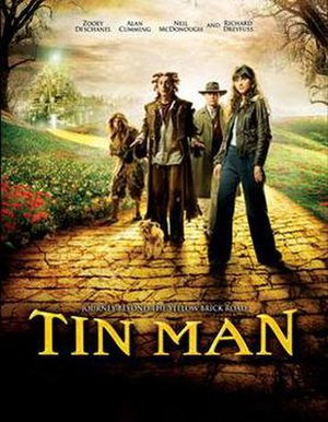Tin Man (miniseries) - Sci Fi Channel promotional poster