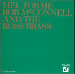 Mel Tormé, Rob McConnell and the Boss Brass - Image: Tormebossbrass