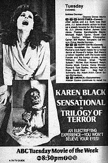 <i>Trilogy of Terror</i> 1975 film by Dan Curtis