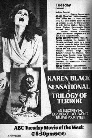 Trilogy of Terror - Film poster