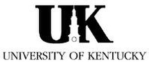 Memorial Hall (University of Kentucky) - University Logo featuring an image of the Memorial Hall clock tower