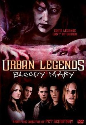 Urban Legends: Bloody Mary - DVD cover