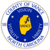 Official seal of Vance County