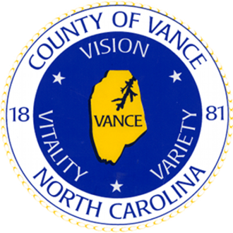 Vance County, North Carolina - Image: Vance County NC seal