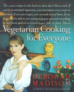 <i>Vegetarian Cooking for Everyone</i> book by Deborah Madison