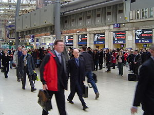 Waterloo commuters