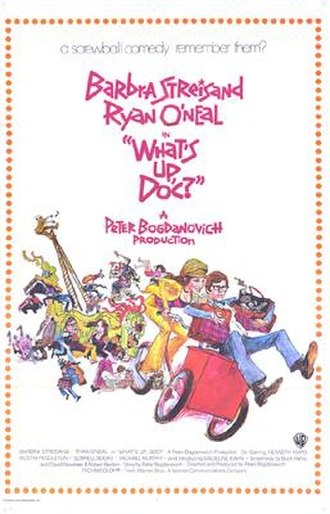 What's Up, Doc? (1972 film) - Image: What's Up Doc poster