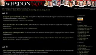 Whedonesque.com