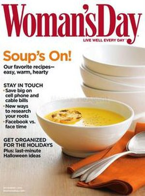 Woman's Day - November 2010 cover