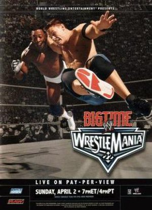WrestleMania 22 - Promotional poster featuring Booker T and John Cena