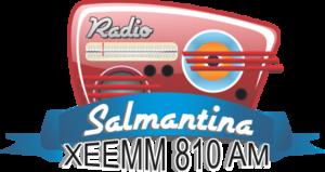 XEEMM-AM - Image: XEEMM Radio Salmantina 810 logo