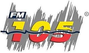 XHBQ-FM - Image: XHBQ FM105 logo