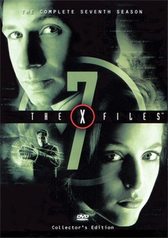 The X-Files (season 7) - DVD cover