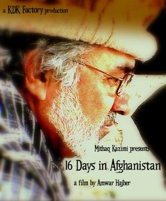 16 Days in Afghanistan - Film poster