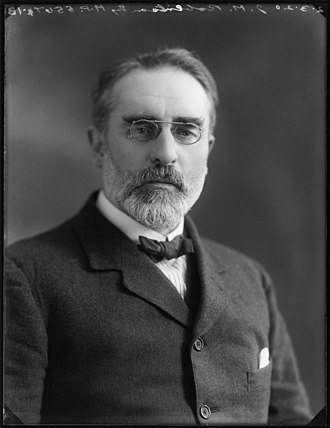 President of the Liberal Party - J.M. Robertson