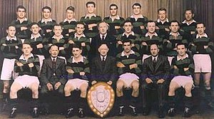 South Canterbury Rugby Football Union - 1950 South Canterbury Team