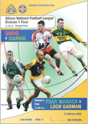 2008 National Football League (Ireland) - Image: 2008 National Football League (Ireland) final