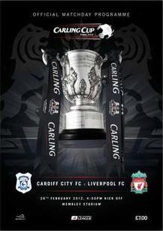 2012 Football League Cup Final - Image: 2012 League Cup cover