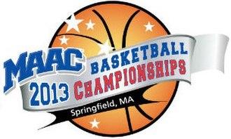 2013 MAAC Men's Basketball Tournament - 2013 MAAC Tournament Logo