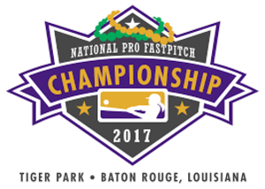 2017 National Pro Fastpitch season - Logo for the 2017 NPF Championship Series