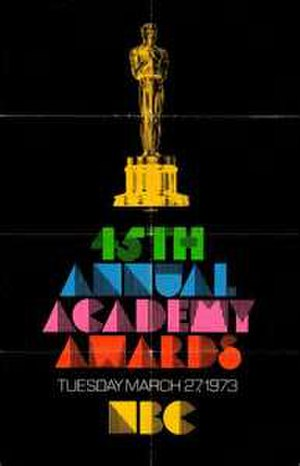 45th Academy Awards - Image: 45th Academy Awards