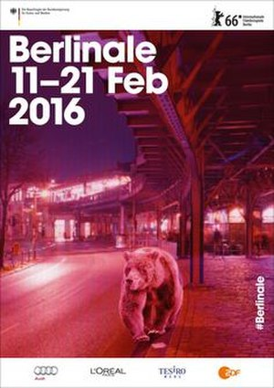 66th Berlin International Film Festival - Festival poster