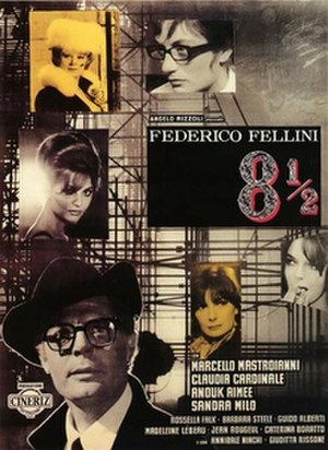 8½ - Original theatrical poster