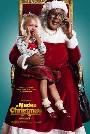 A Madea Christmas (film) - Theatrical film poster