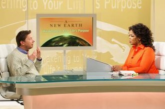 Oprah's Book Club - Eckhart Tolle joins Oprah to discuss his book A New Earth as part of a live webcast series on Oprah.com