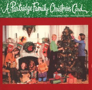 A Partridge Family Christmas Card - Image: A Partridge Family Christmas Card CD