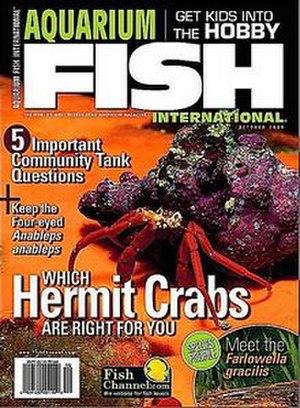 Aquarium Fish International - Cover of Aquarium Fish International