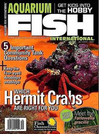 Aquarium Fish International - Cover of Aquarium Fish International