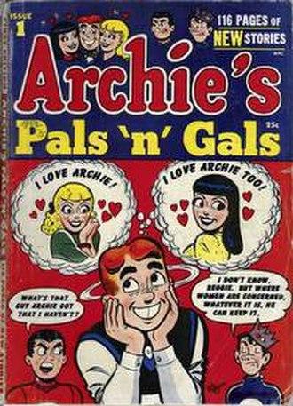 Archie's Pals 'n' Gals - Image: Archies Pals n Gals 1