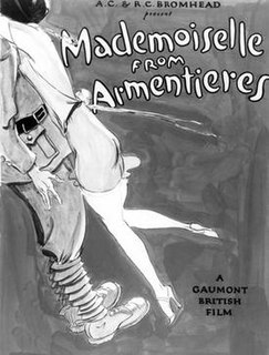 <i>Mademoiselle from Armentieres</i> (film) 1926 film