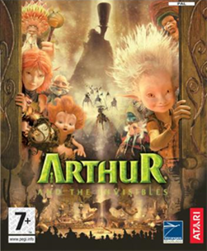 Arthur and the Invisibles (video game) - PAL region cover art.