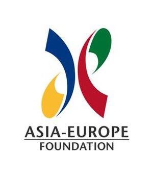 Asia–Europe Foundation - Image: Asia Europe Foundation logo