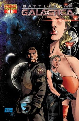 Battlestar Galactica (comics) - Image: BSG1Dynamite