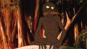 Gollum - Gollum in Ralph Bakshi's animated version of The Lord of the Rings